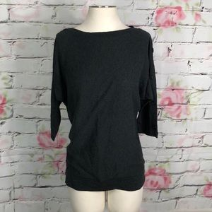 The limited thin knit dolman sweater